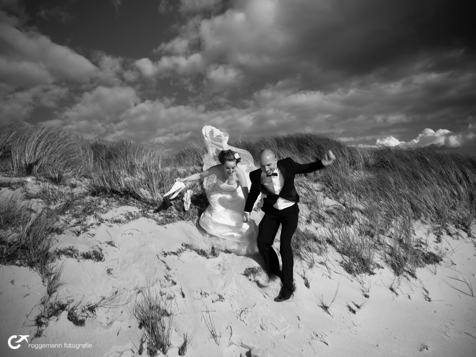 Heiraten mit Action am Meer