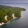 Die Küste von Rügen aus der Luft betrachtet