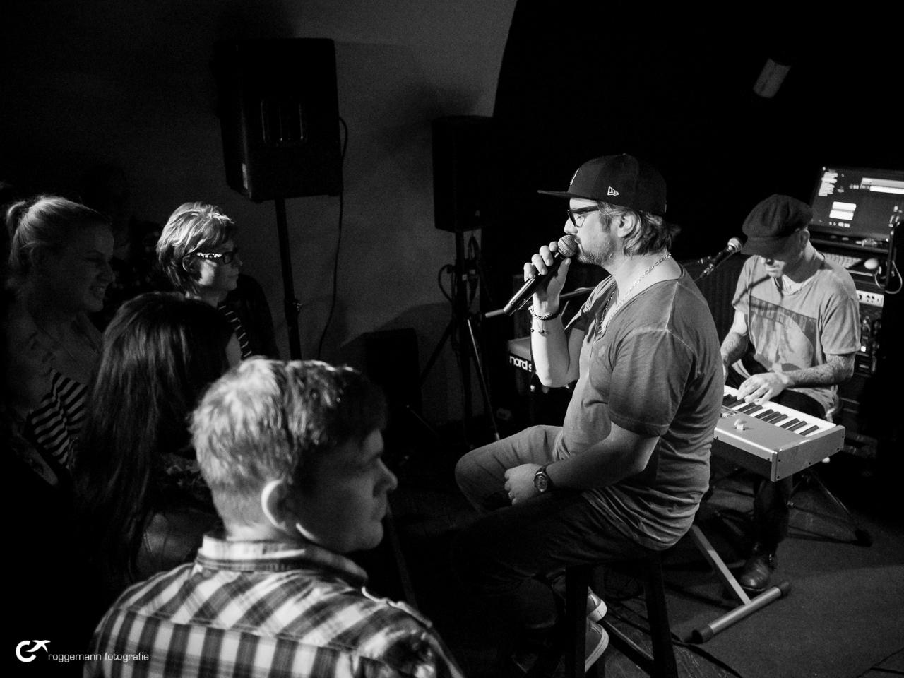 Henning Wehland live nah am Publikum