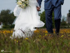 Hochzeit auf Hiddensee - untypisches Hochzeitsfoto