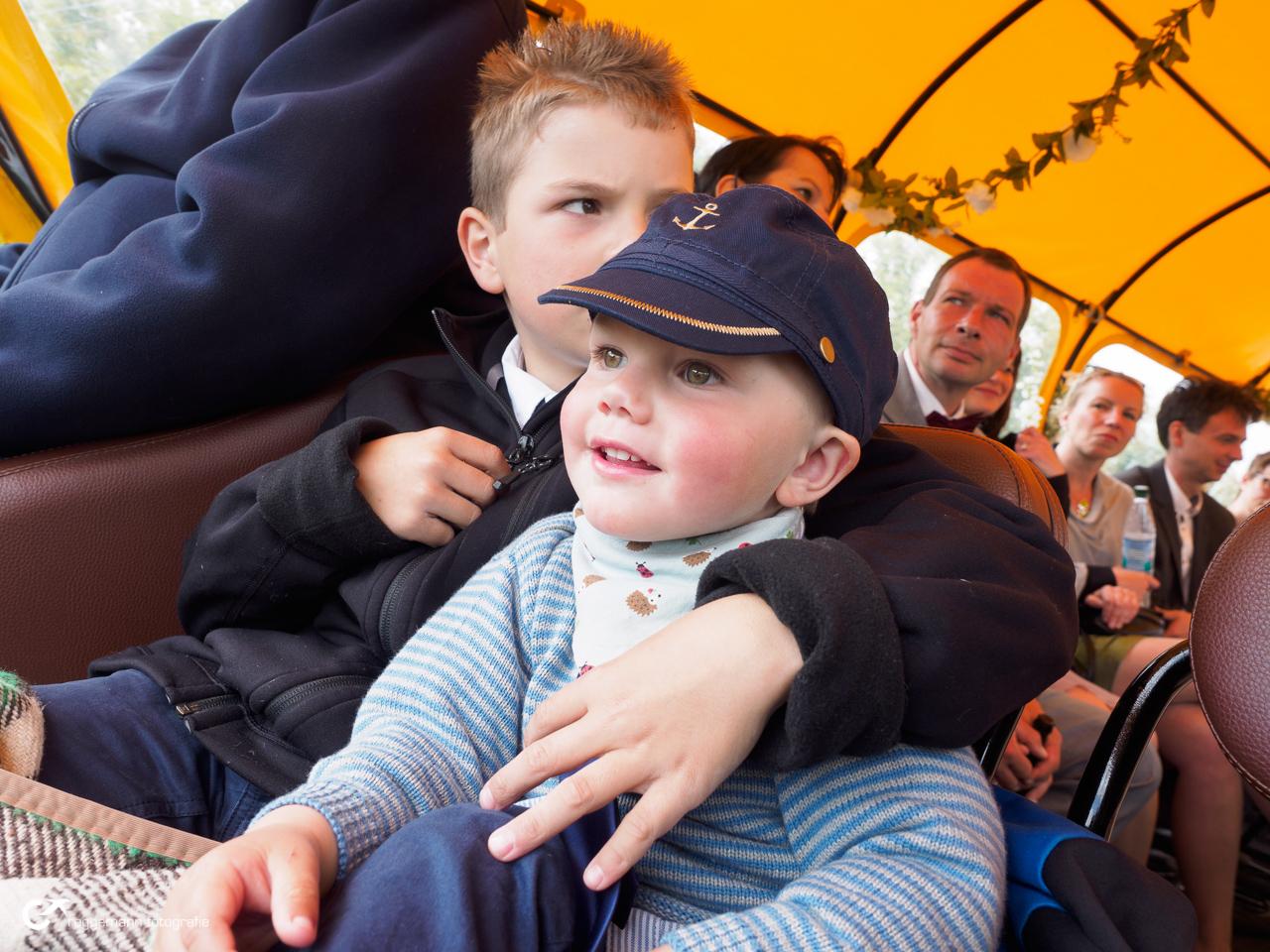 Kutschfahrt auf Hiddensee - Kinder lieben das