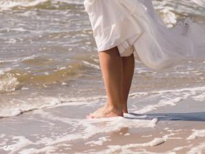 Barfuss heiraten am Strand