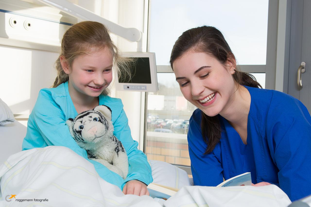 Kinder Werbefoto für die Unimedizin Greifswald