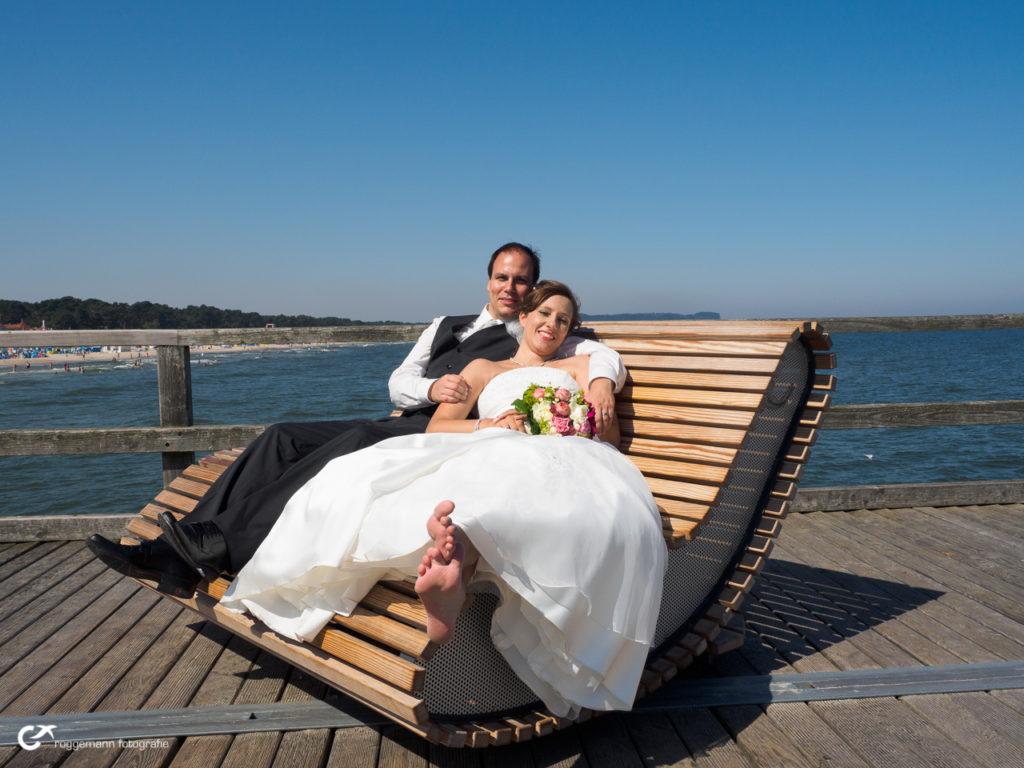 Barfuss nach der Hochzeit