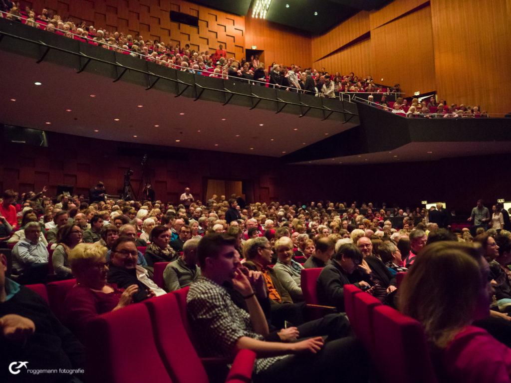 Das Publikum im Theater am Aegi in Hannover