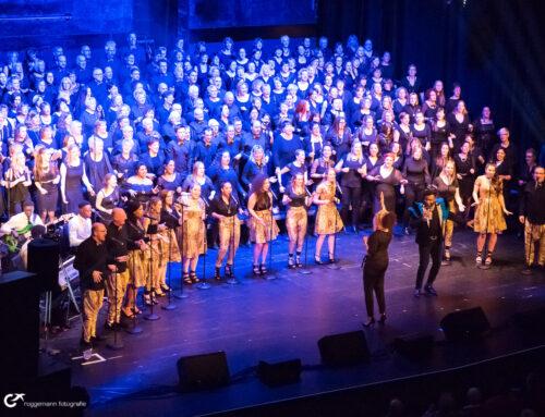 Konzertfotograf in Hannover: Singout Gospel mit 200 Sängern im Theater am Aegi
