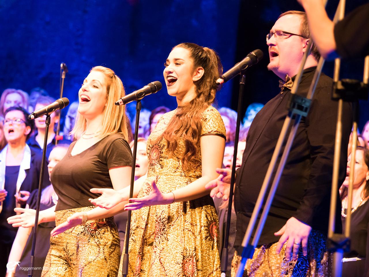 Sängergruppe des Gospelchor