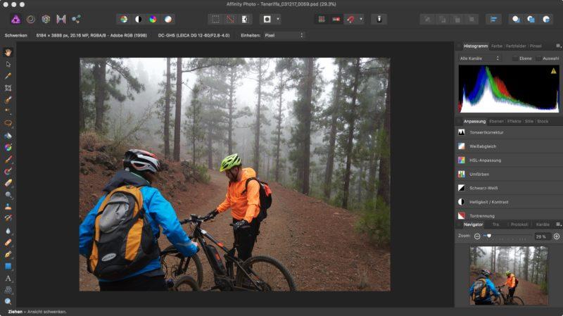 Affinity als Alternative zu Photoshop