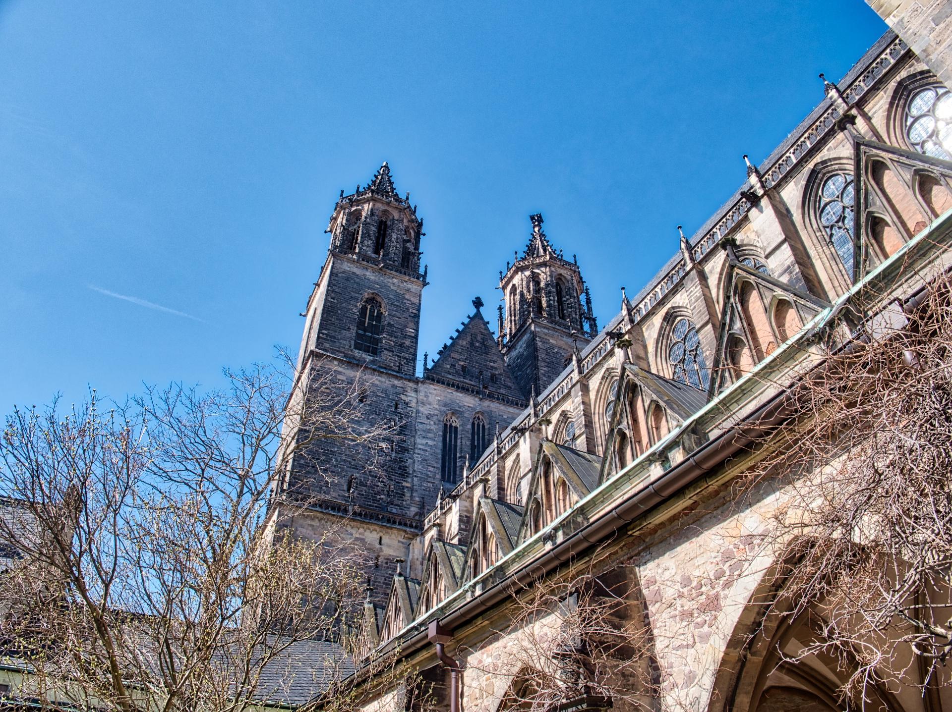Aussenaufnahme des Magdeburger Doms mit HDR