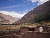 Peru, Sacred Valley mit dem iPhone footgrafiert