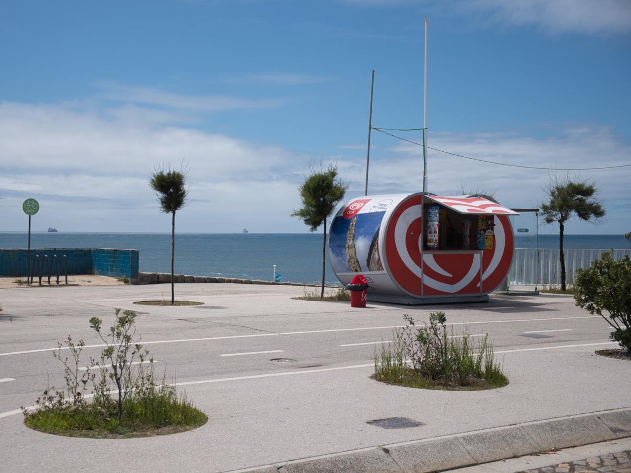 Eiswagen in Portugal vorher