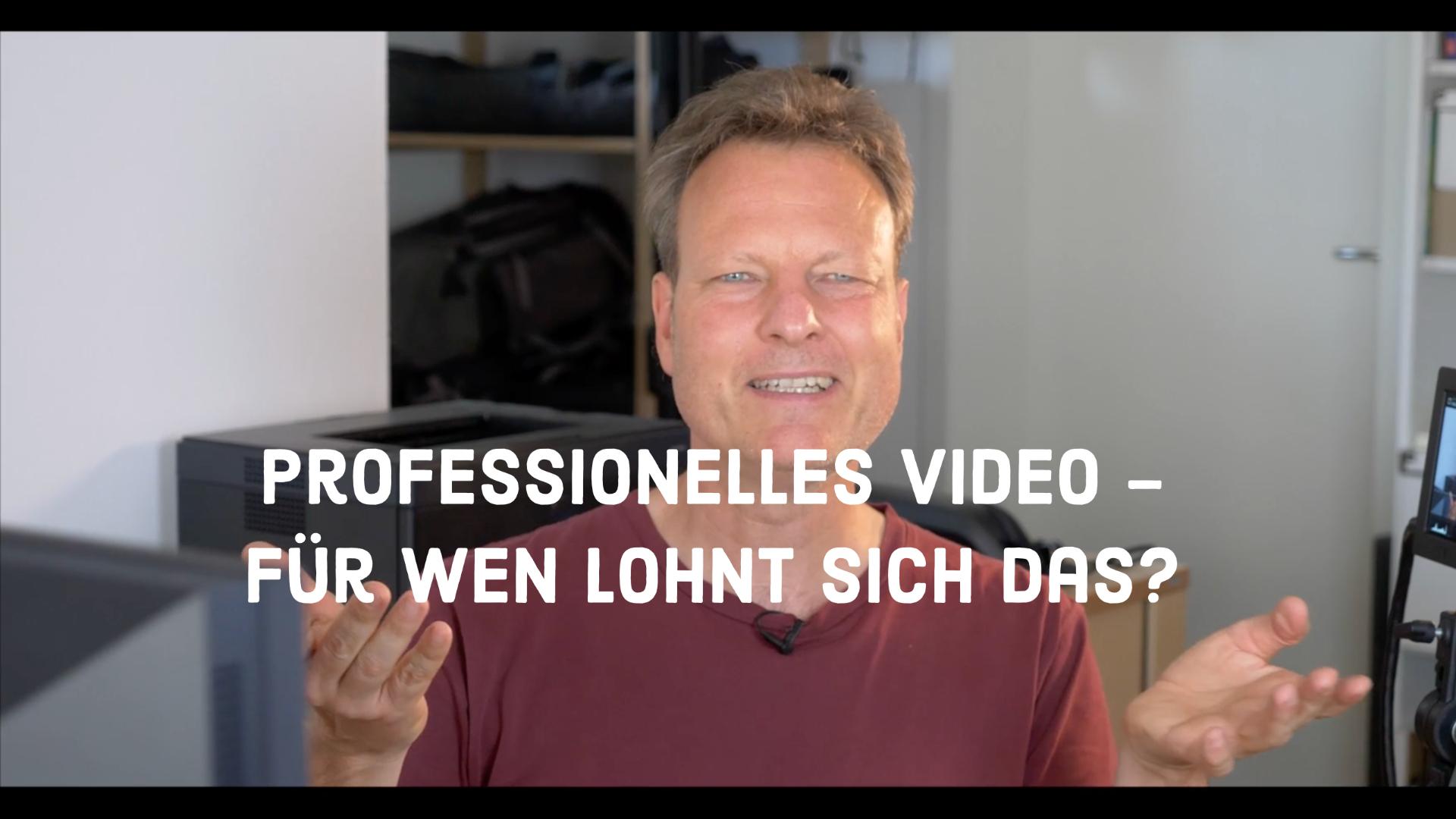 Professionelles Video für Firmen